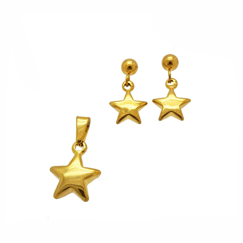 Star Pendant Jewelry Set