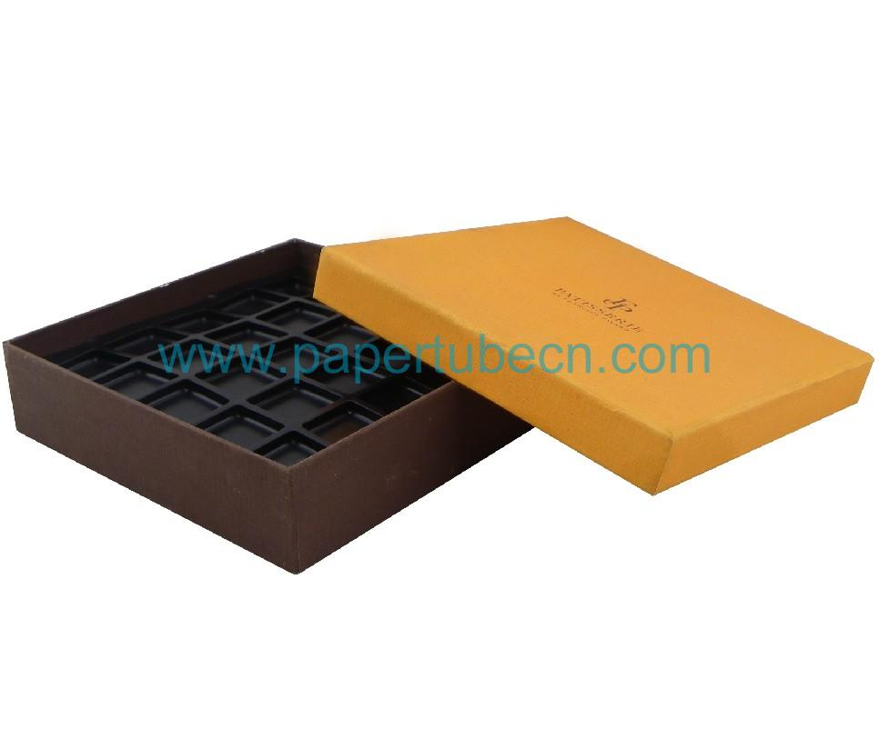 Chocolate Use and Paper Material Decorative Christmas Gift Boxes