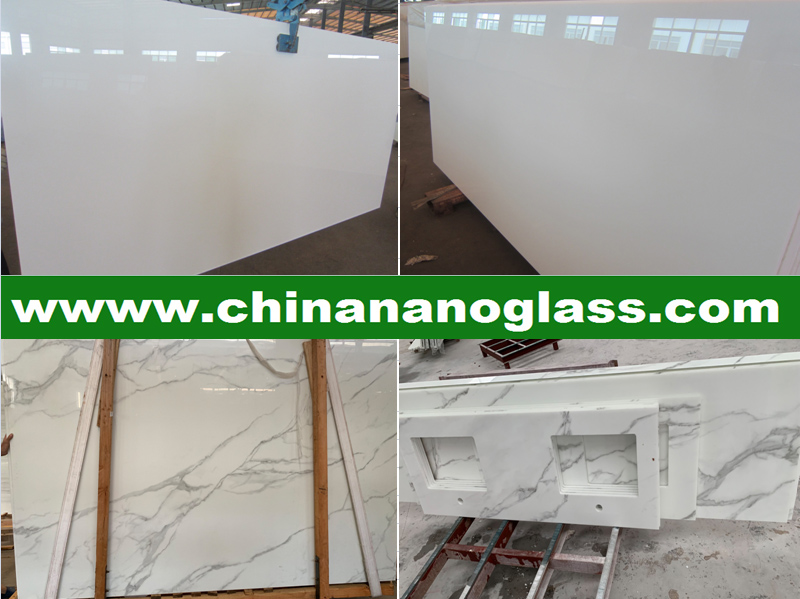 3CM thickness Nano Crystallized Glass Stone Tile and Slab Photo